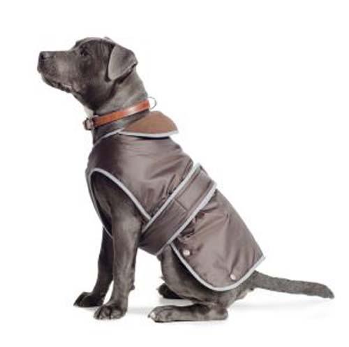 Ancol Stormguard Dog Coat Chest Protector Chocolate Dog Coats Various Sizes