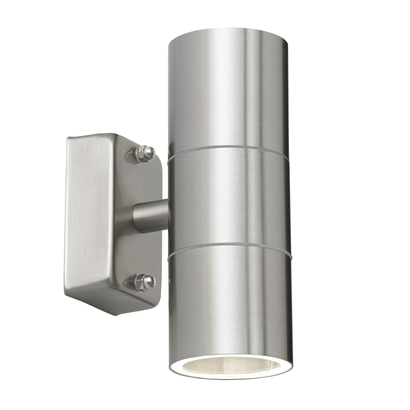 Endon Canon Up Down Outdoor Wall Light Ip44 35w Polished