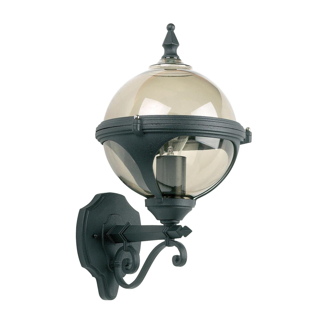 Outdoor Wall Light Accessories: Endon Chatsworth Outdoor Wall Light IP44 60W Matt Black