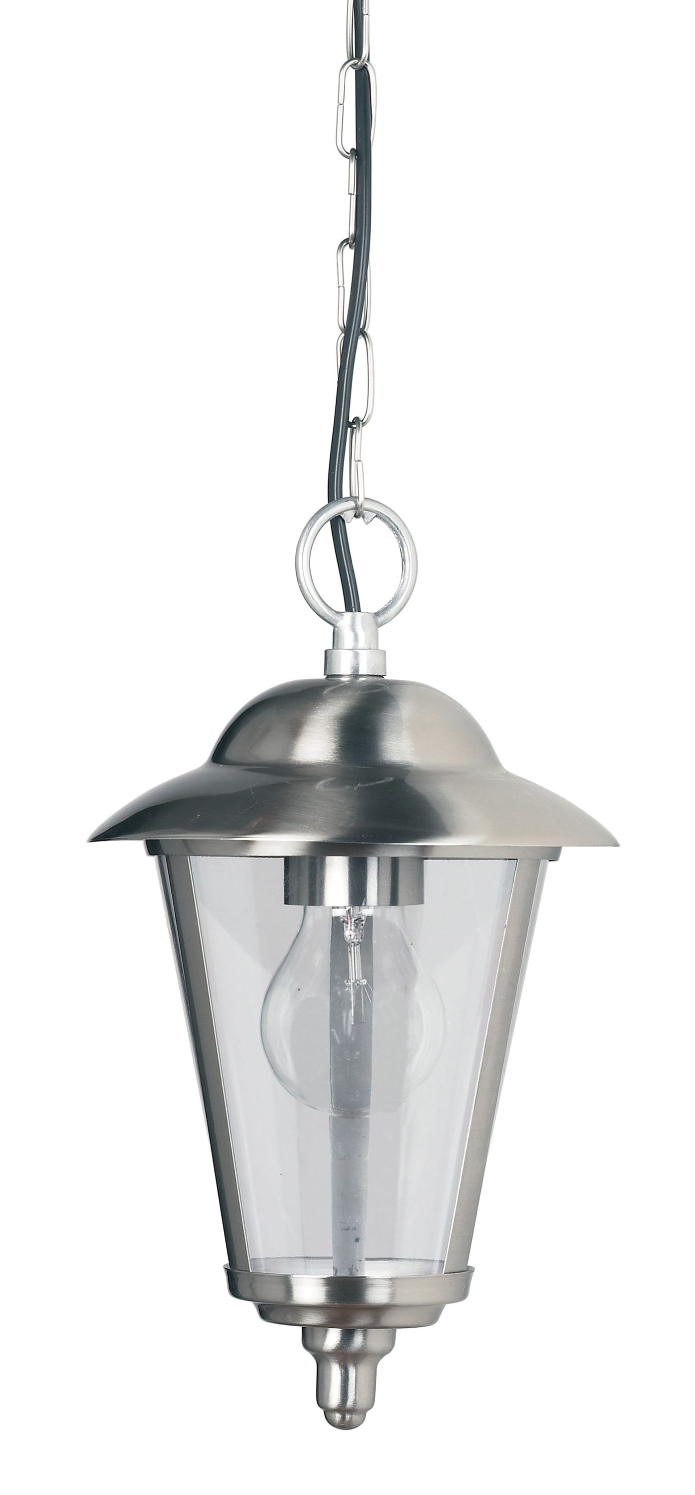 Endon IP20 Klien outdoor pendant light 60W Polished ...