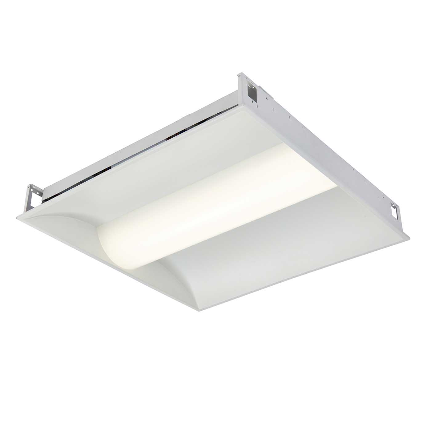 Saxby Aurelia LED recessed ceiling office lighting 600 x ...