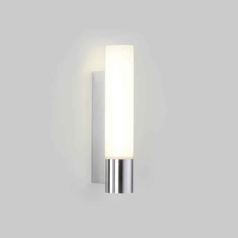 0386 salle de bains Applique murale 1 x 11W 2G7 lampe IP44 chrome poli