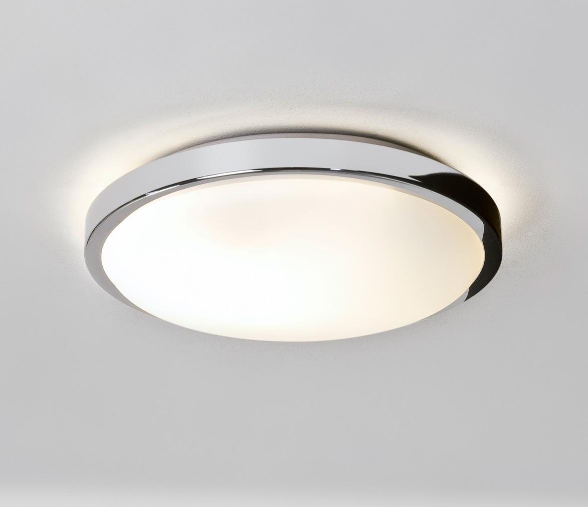 Astro denia 0587 rotondo bagno lampadario a soffitto 2 x 40w e14 candela cromato ebay - Lampada bagno soffitto ...