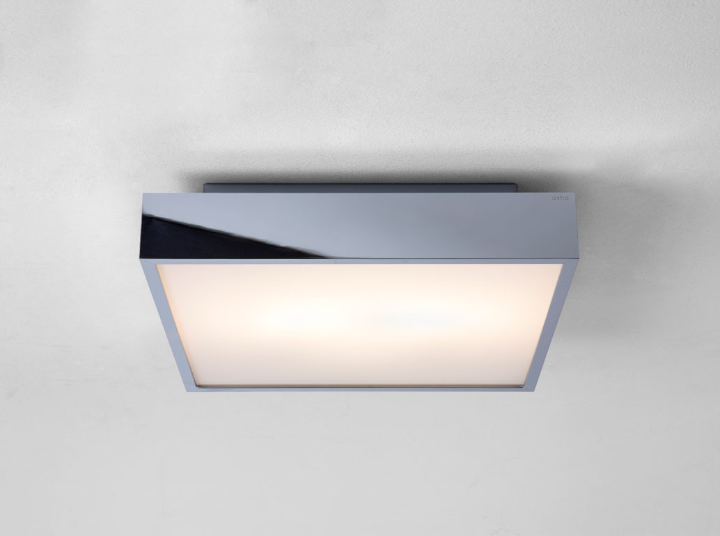 Astro Taketa Plus 0933 Square Bathroom Ceiling Light 28w Ip44 Polished Chrome Ebay