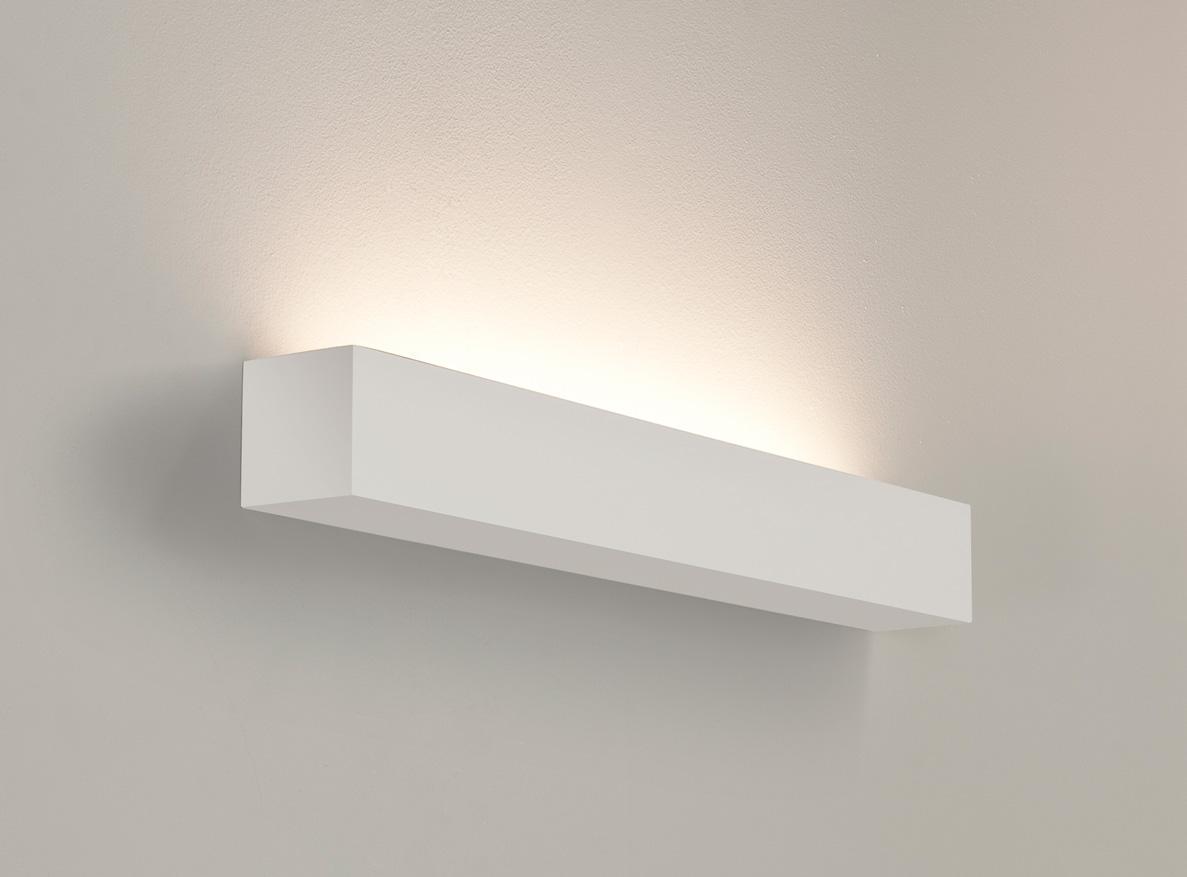 Astro Parma 625 7040 rectangular wall light 1x24W T5 HO lamp IP20 plaster Liminaires