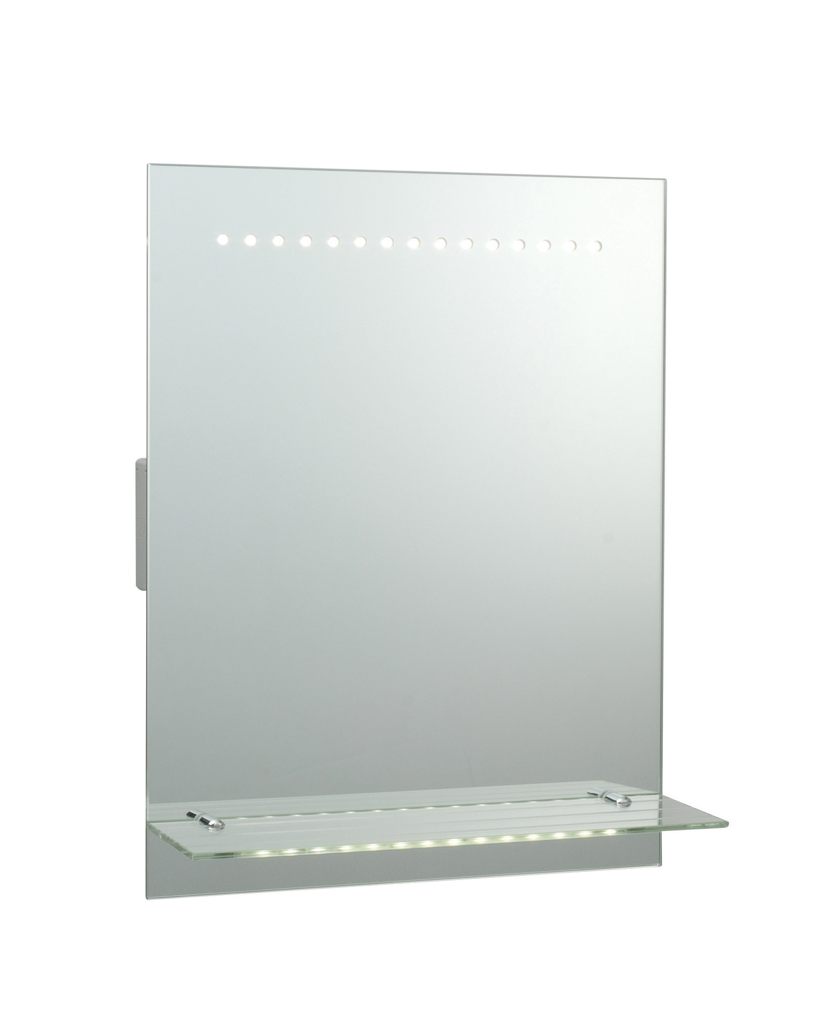 Saxby Omega 39237 Illuminated LED Mirror Glass Shelf Hand Sensor Shaver Demis