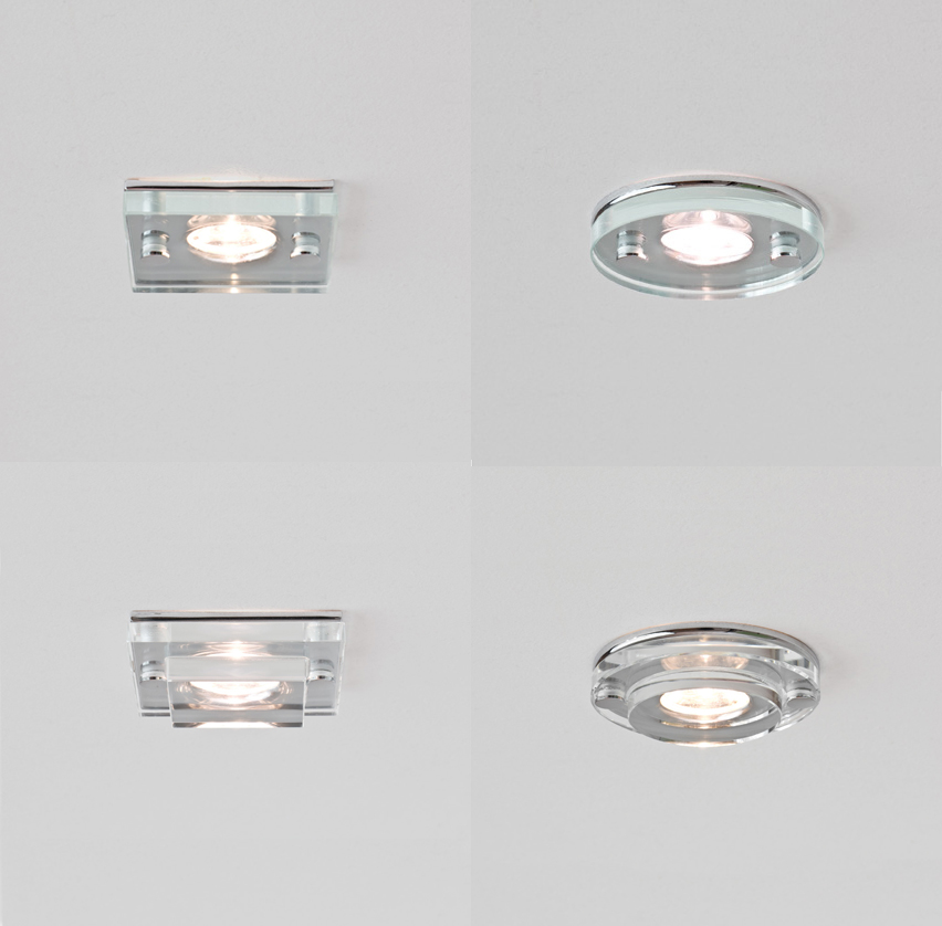 astro ip65 led shower bathroom downlight 5579 5580 5581 5582 round square 3w ebay. Black Bedroom Furniture Sets. Home Design Ideas
