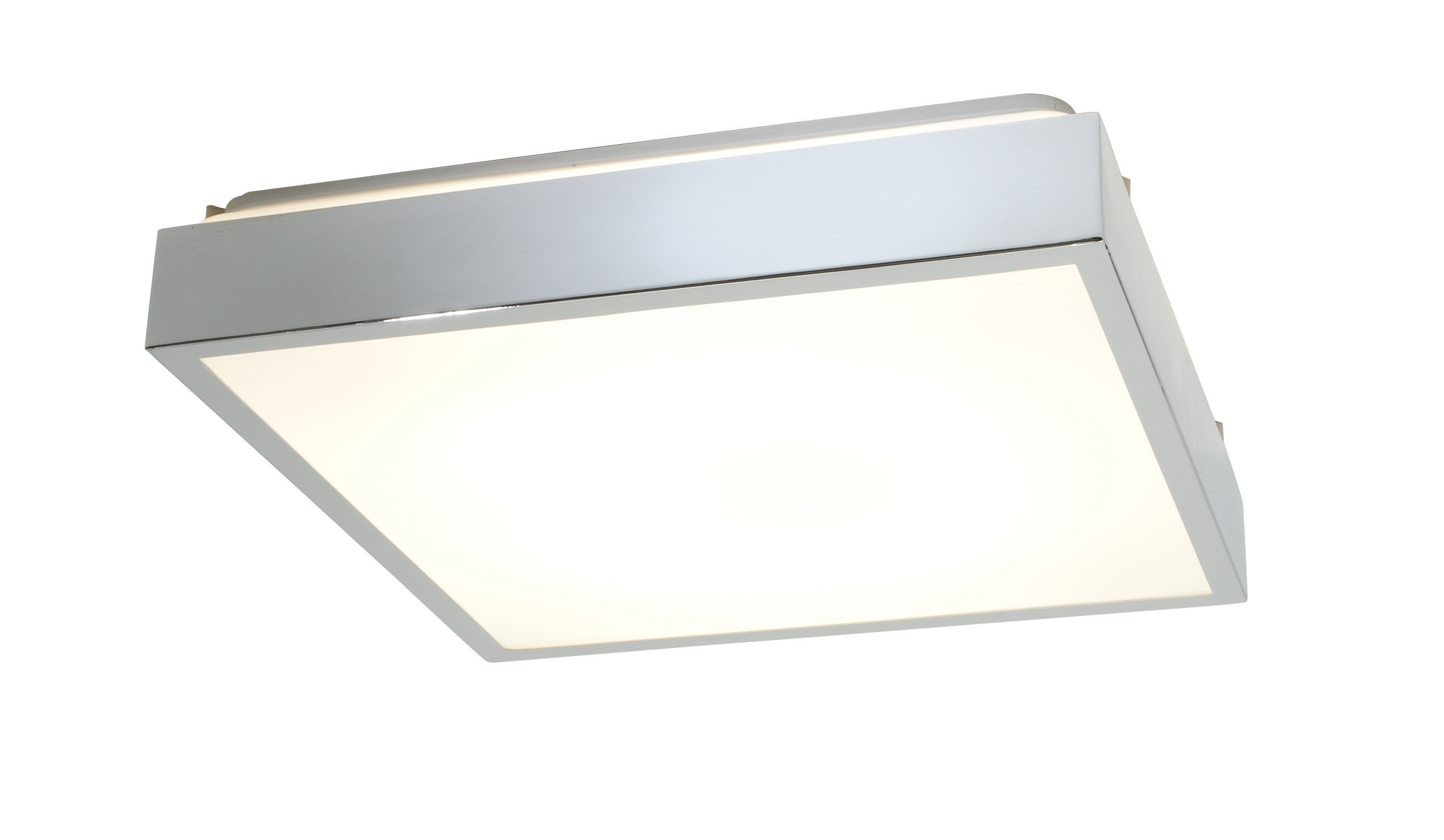 cubita large 35215 square bathroom ceiling light 38w 2d 4 pin chrome