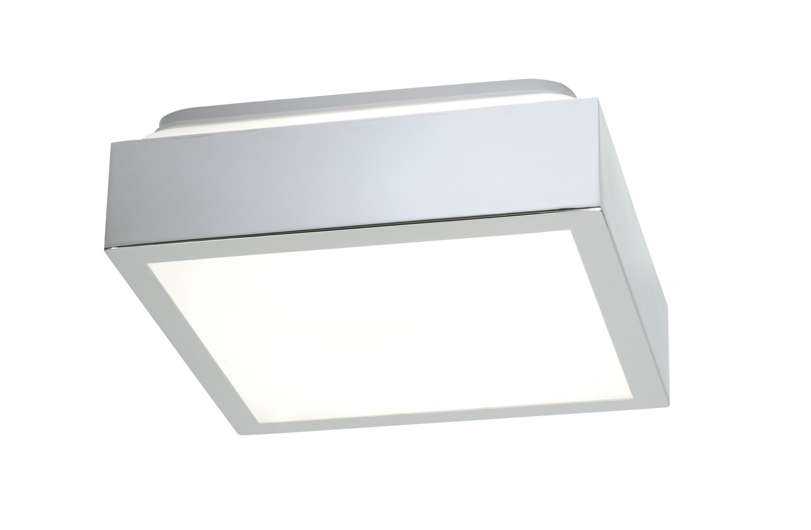 cubita small 31949 square bathroom ceiling light 16w 2d 4 pin chrome