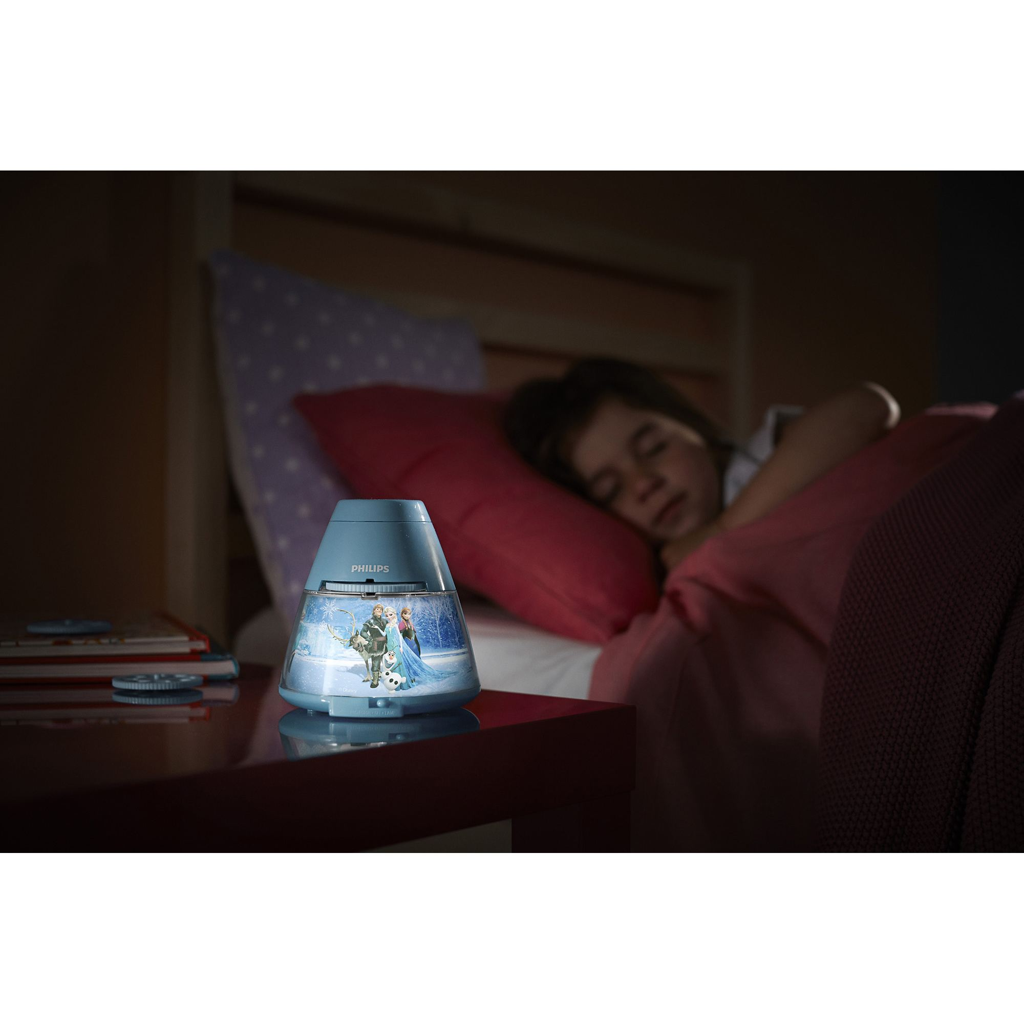 philips disney frozen children u0026 39 s led night light projector
