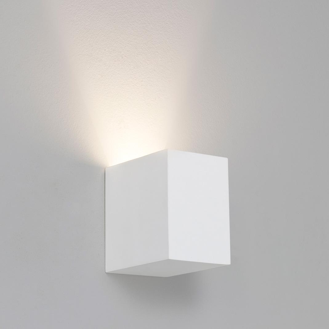 Astro Parma 110 7076 rectangular wall light 1x50W GU10 lamp IP20 plaster eBay