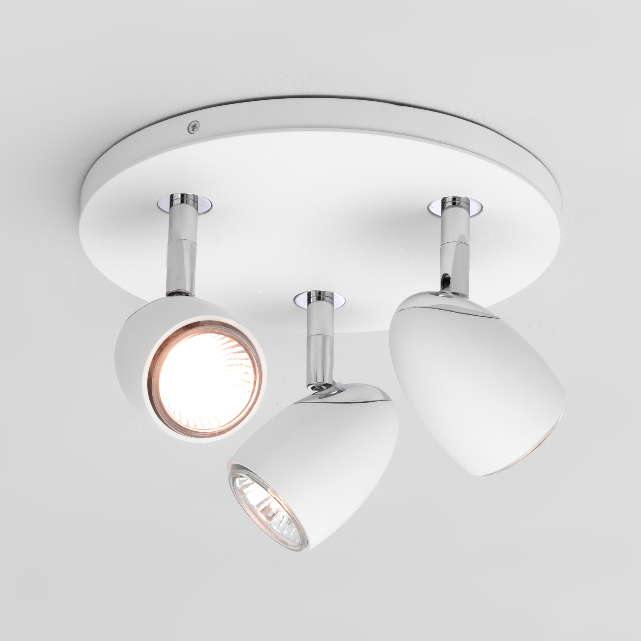 Pendant Light Suitable For Bathroom : Astro ovale triple round bathroom adjustable spotlight