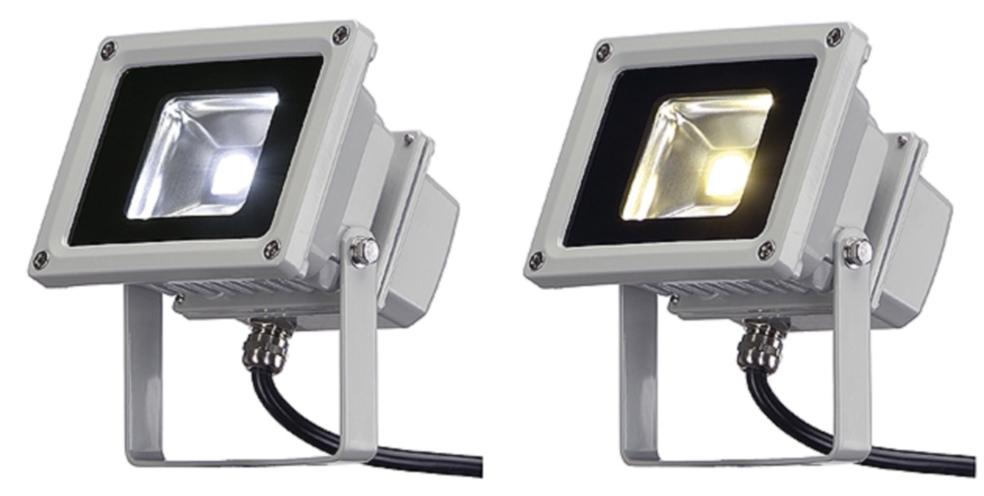 Led externo foco 10w 120 led exterior foco led ip44 plata for Foco led exterior 10w