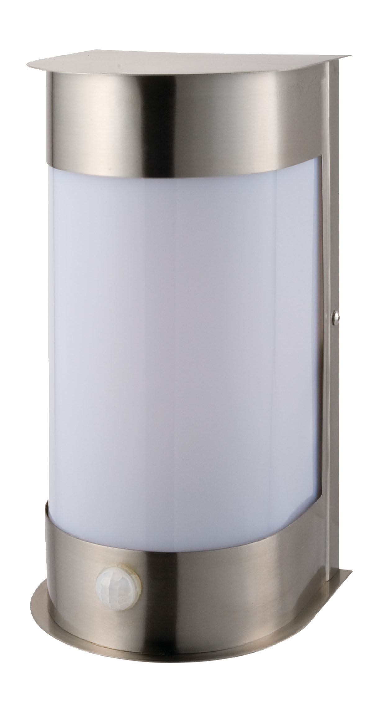 TP24 5330 Metro Maine 6W G40 LED IP44 Outdoor Security Light PIR Stainless  Steel