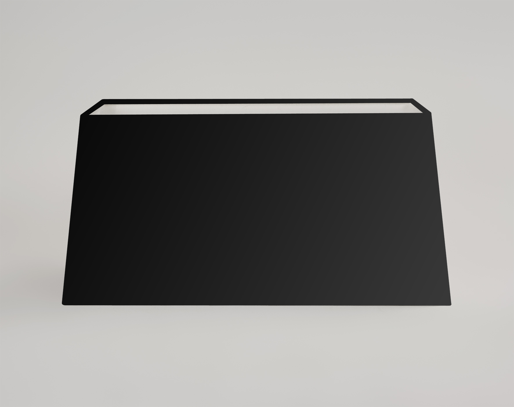 Rectangular Lamp Shades For Wall Lights : Astro Park Lane 4112 tapered rectangular lampshade for table wall light black eBay