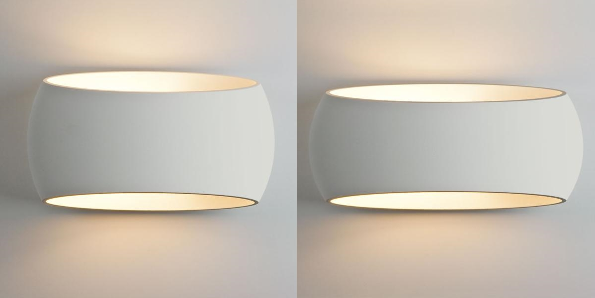 Ceramic Wall Lights uk Ceramic Oval Wall Light