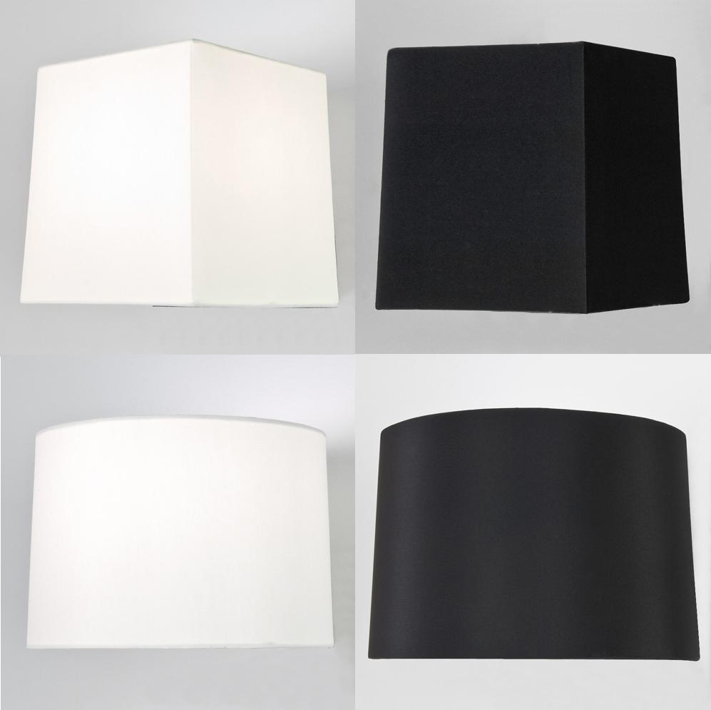 square lampshade astro azumi tag fabric tapered square round lampshade - Large Lamp Shades
