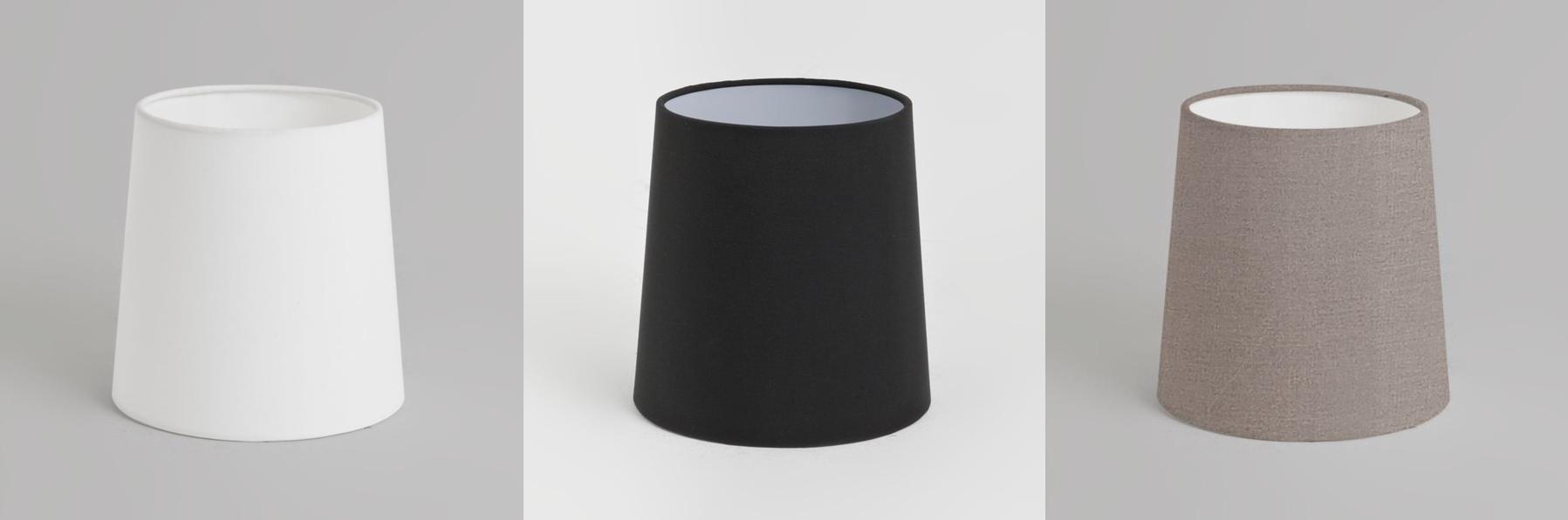 astro kegel 160 stoff lampenschirm f r tisch wandlicht. Black Bedroom Furniture Sets. Home Design Ideas