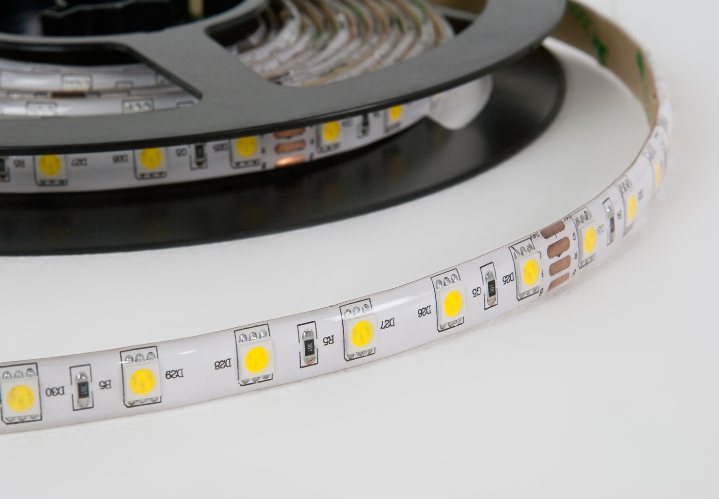 High output LED strip lighting daylight waterproof IP65 24V SMD5050 14.4W : eBay