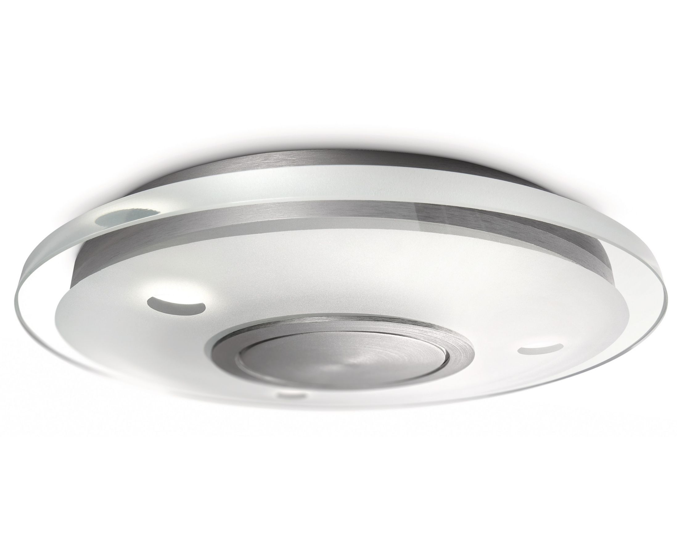 philips instyle vidro led rond lumi re plafond 3 x 7 5w led aluminium ebay. Black Bedroom Furniture Sets. Home Design Ideas