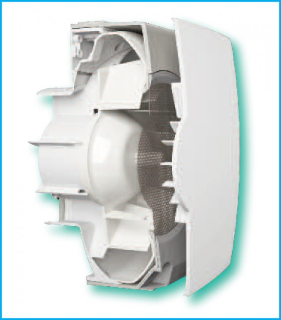 Bathroom Extractor Fans B Q: /Vectaire Elix Kitchen Bathroom Extractor Centrifugal Fan