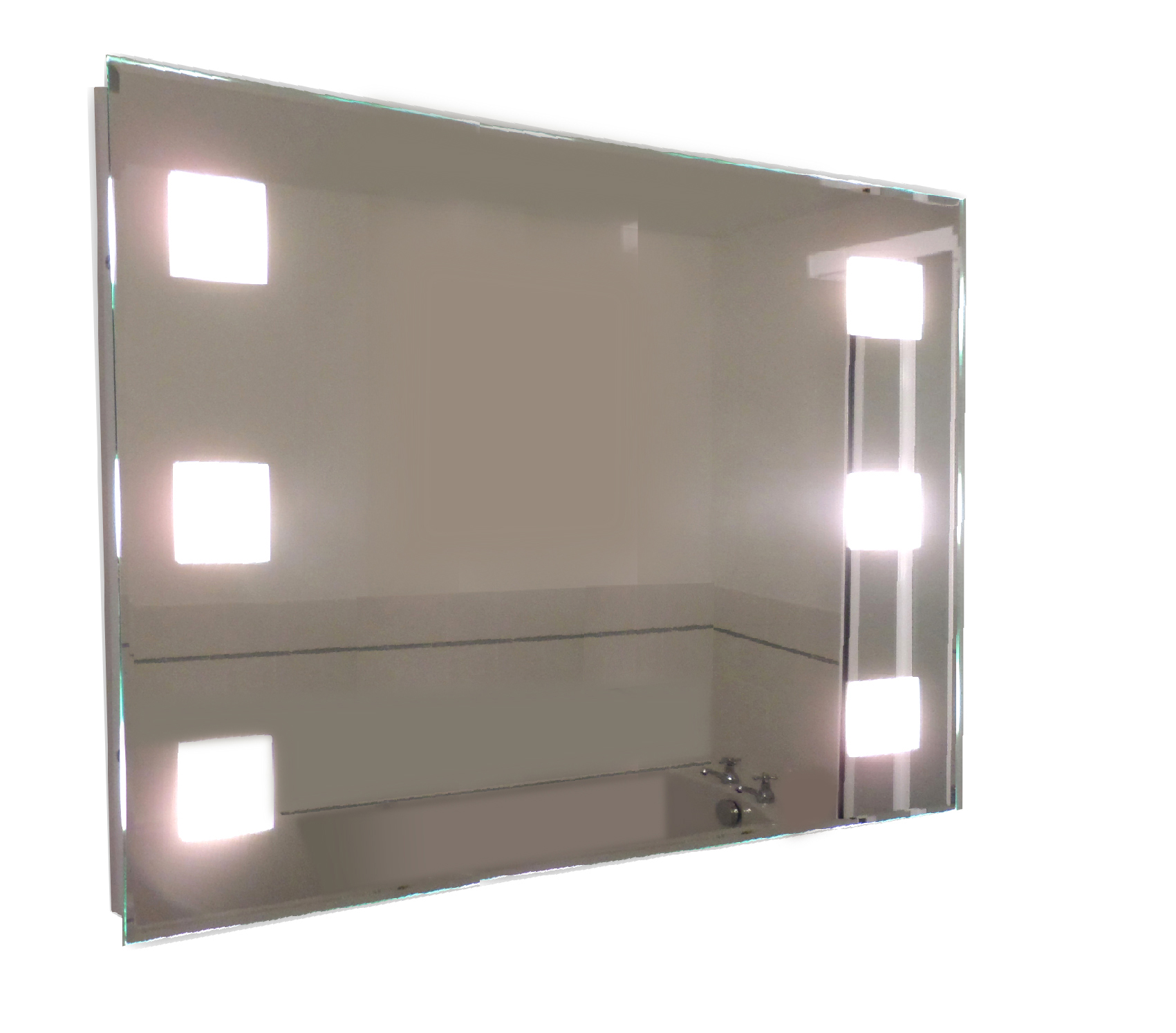 Bathroom Mirror Lights 900 X 600 tp24 central snaresbrook led illuminated rectangular bathroom