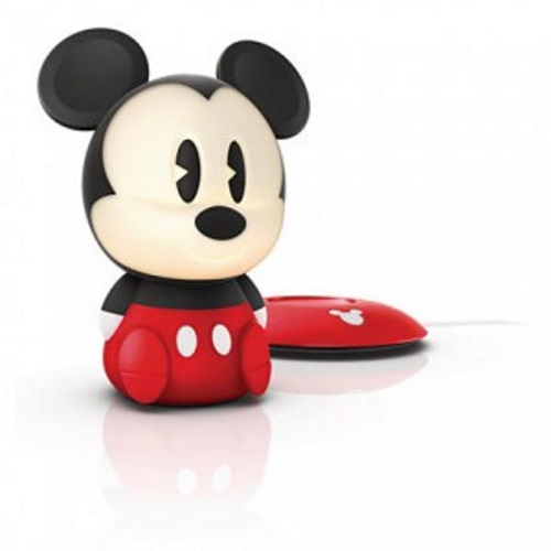 Philips Disney Softpal Mickey Mouse Led Black Portable