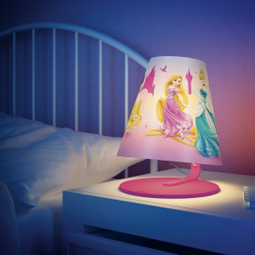 Disney Table Lamp : Philips disney princess led table lamp light pink