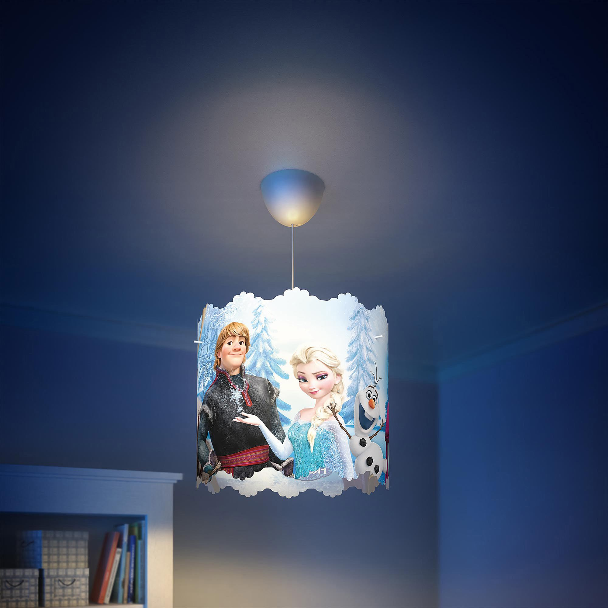 Disney Frozen Ceiling Light Shade Lamp Shade Only Blue