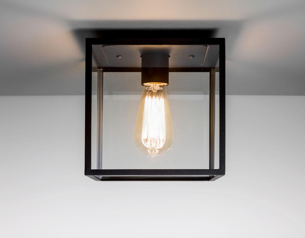 Ceiling Light No Box : Astro box ip outdoor external ceiling light w e