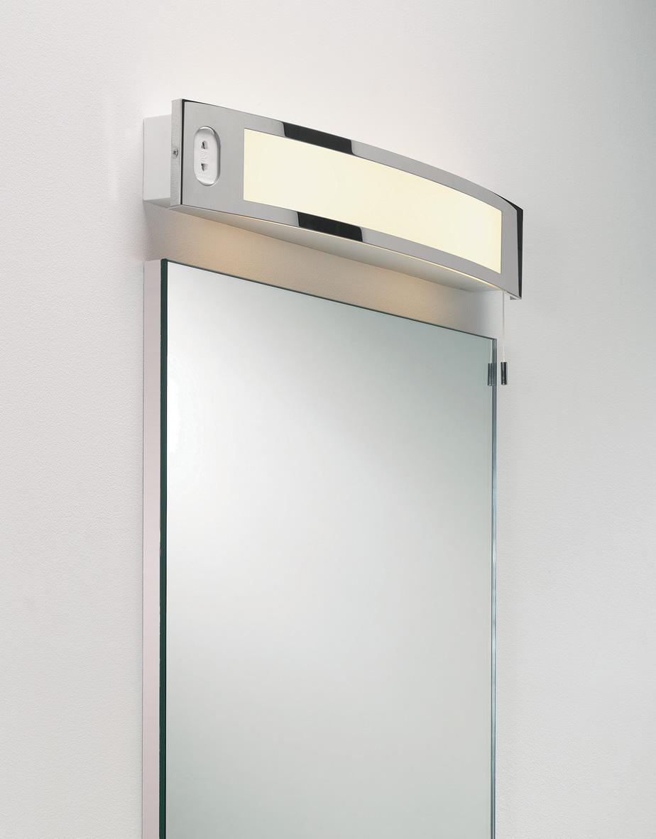 Astro Seville Shaver 0347 Bathroom Shaver Light Chrome Inc Shaver Socket 2 X