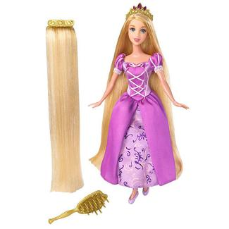 Disney Princess Rapunzel Hair Extension Doll New