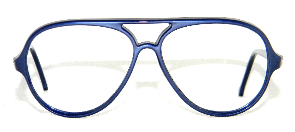 Vuarnet 374 Blue Plastic Aviator Replacement Frame for ...