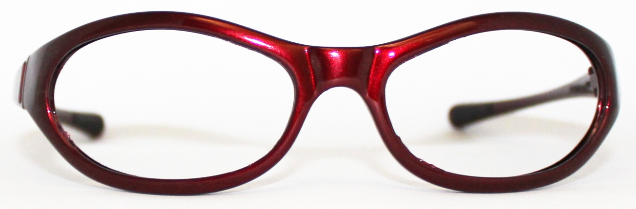 Frame Replacement For Glasses : New Vuarnet 115 burgundy sunglasses frame replacement eBay
