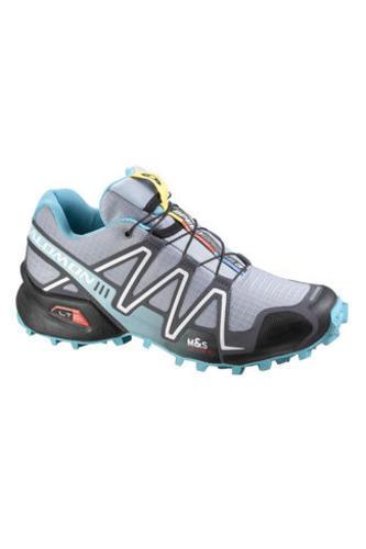 New-Salomon-Womens-Speedcross-3-Trail-Running-Racing-Trainer-Grey-Size-4-8