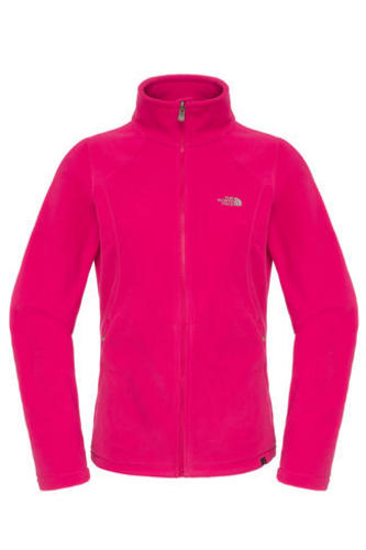 New-The-North-Face-Womens-100-Glacier-Full-Zip-Fleece-Pink