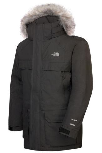 New The North Face Boy's McMurdo Winter Parka Jacket, Black