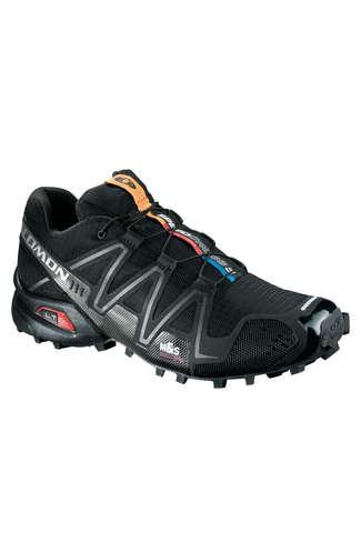 New Salomon Mens Speedcross 3 Trail Running Racing Trainer Black Size 7-12.5
