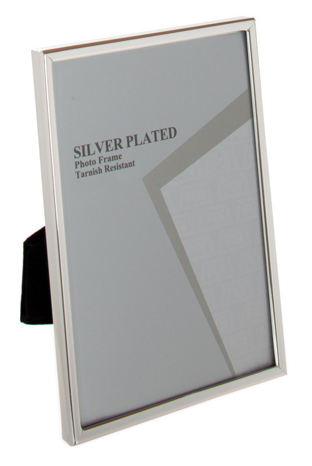 """Unity Silver Plated Thin Edge Picture Photo Frame - 4""""X6"""", 5""""X7"""", 6""""X8"""" 10""""X8"""", A4"""