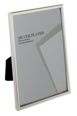 """Unity Silver Plated Thin Edge Picture Photo Frame - 4""""X6"""", 5""""X7"""", 6""""X8"""" 10""""X8"""", A4 Thumbnail 1"""