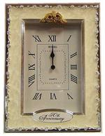 Shudehill Giftware 50Th Golden Wedding Anniversary Celebration Quartz Clock