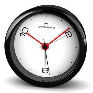 Oliver Hemming Acrylic Contemporary British Design Alarm Clock Glass Lens Thumbnail 1