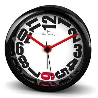 Oliver Hemming Acrylic Contemporary British Design Alarm Clock Cool Design 8Cm Thumbnail 1