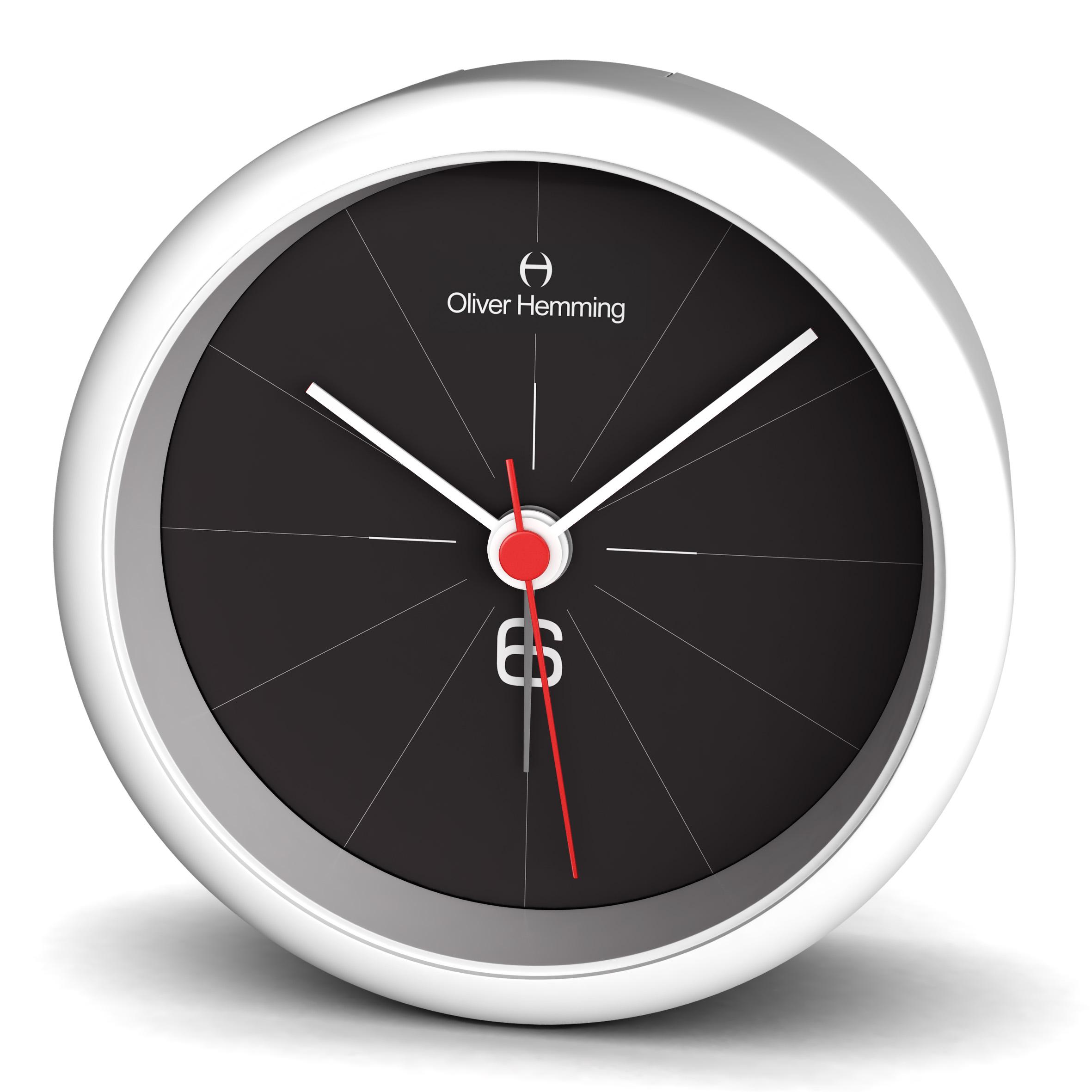 Oliver hemming acrylic contemporary british design alarm for Amazing alarm clocks