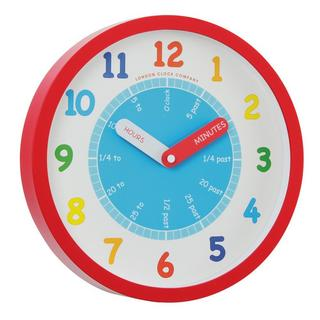 Children's Learn lthe Time Wall Clock Thumbnail 1