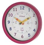 Henley Children's Clock in Pink