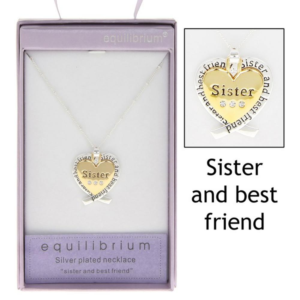 Sister and Best Friend Necklace