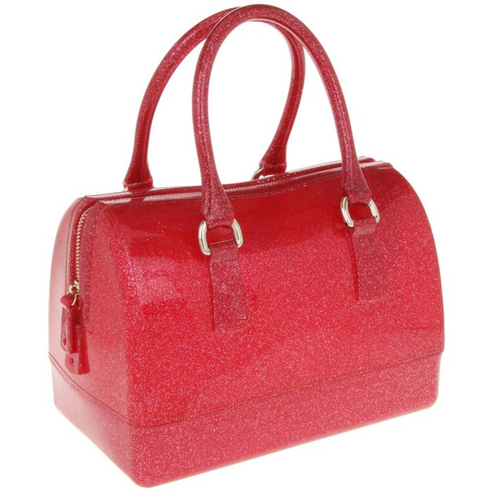 Ladies Equilibrium Barrel Shape Hand Bag