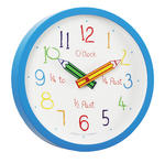 LONDON CLOCK COMPANY CHILDRENS LEARN COLOUR AND TIME EDUCATIONAL WALL CLOCK