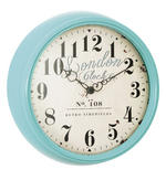London Clock Company Smokey Duck Egg Deep Case Wall Clock - 40Cm Diameter